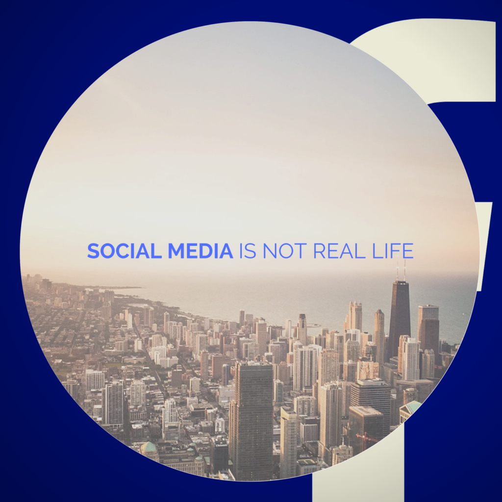 social media is not real life podcast and blogs