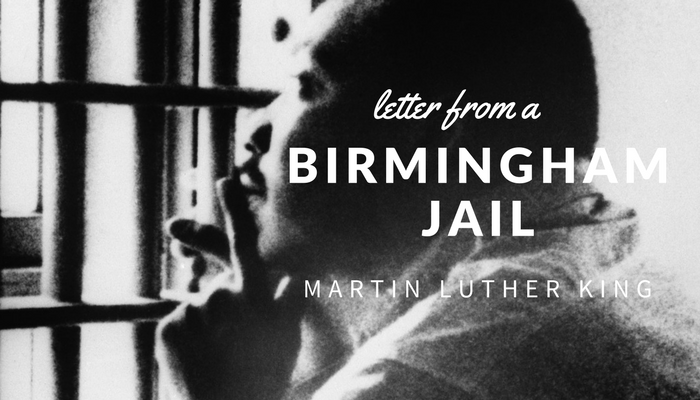 a letter from a birmingham jail letter from a birmingham by martin luther king 20326